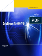 User guide for Datastream