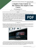 Cooperative Adaptive Cruise Control