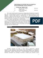 Articol Proiect Sala Multifunctionala de Sport Cluj Napoca 15.02.2013