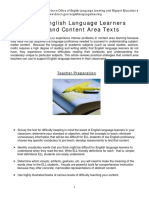 idoe-helping ell understand content area texts