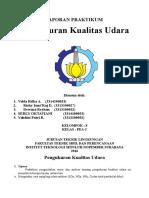 Laporan Praktikum Pengendalian Emisi Ambien