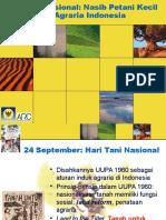 HTN Dan Kondisi Agraria Indonesia Saat Ini