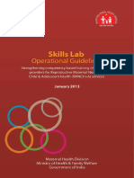 Skills Lab Operational Guidelines