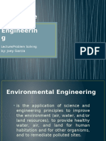 Environmental Engineering Lecture