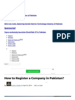 How to Register a Company in Pakistan