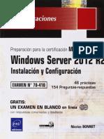 70-410 Windows Server 2012 R2 - Instalación y Configuración