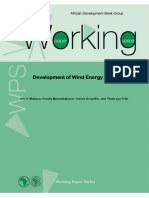 Working Paper 170 - Development of Wind Energy in Africa.pdf