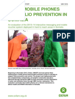Using Mobile Phones for Polio Prevention in Somalia