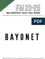 Bayonet Manual US Army 1943