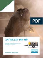Compresor mobil Atlas Copco XAS 186 Dd