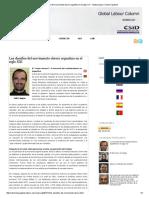 Los Desafíos Del Movimiento Obrero Argentino en El Siglo XXI _ Global Labour Column Spanish
