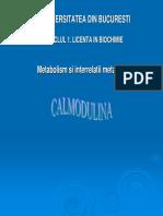 Curs 04a Calmodulina