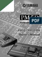 Yamaha PM5D Owners Manual