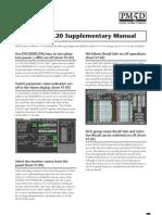 Yamaha PM5D Supplementary Manual