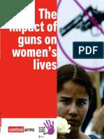The Impact of Guns on Women's Lives