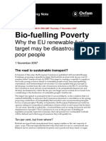 Biofuelling Poverty