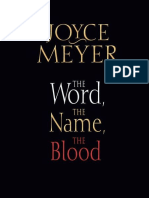 The Word the Name the Blood by Joyce Meter