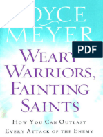 Weary Warriors, Fainting Saints How You by Joyce Meyer