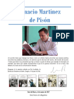 Dossier Ignacio Martinez de Pison. Autora