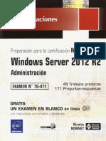 70-411 Windows Server 2012 R2 - Administración