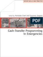 Cash-Transfer Programming in Emergencies