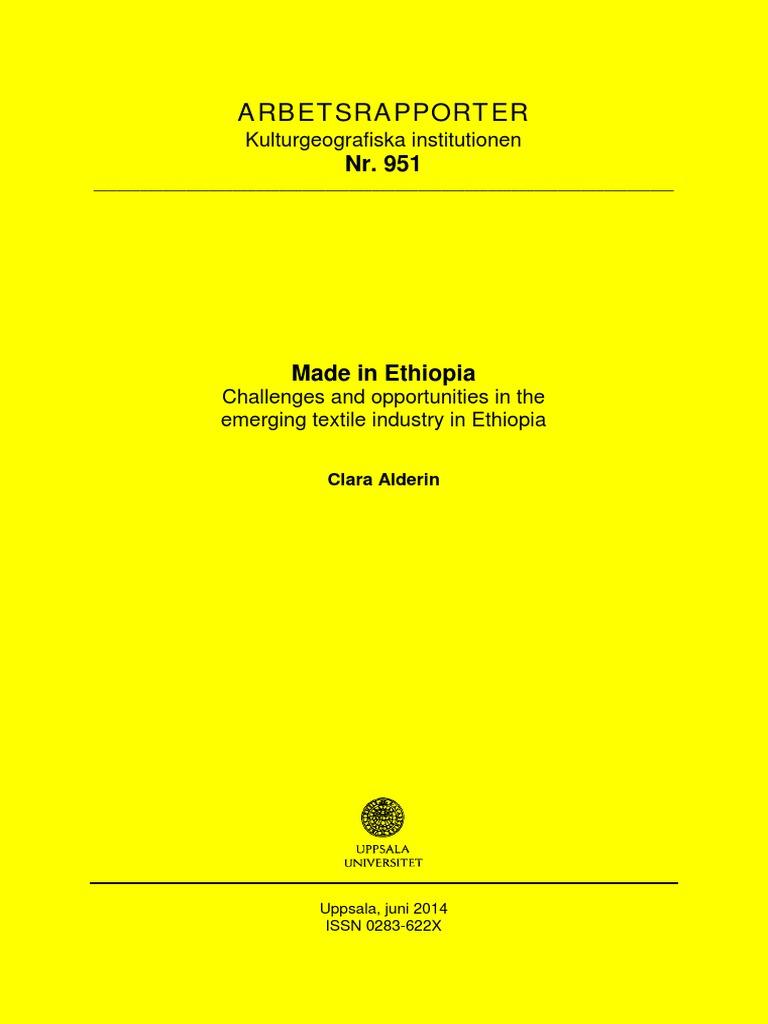 Arbetsrapporter: Kulturgeografiska institutionen