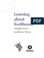 Learning About Livelihoods