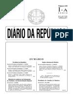 Decreto Lei 118 2006