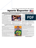 March 1 - 7, 2017  Sports Reporter