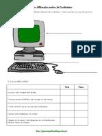 CP - Les Différentes Parties d'Un PC