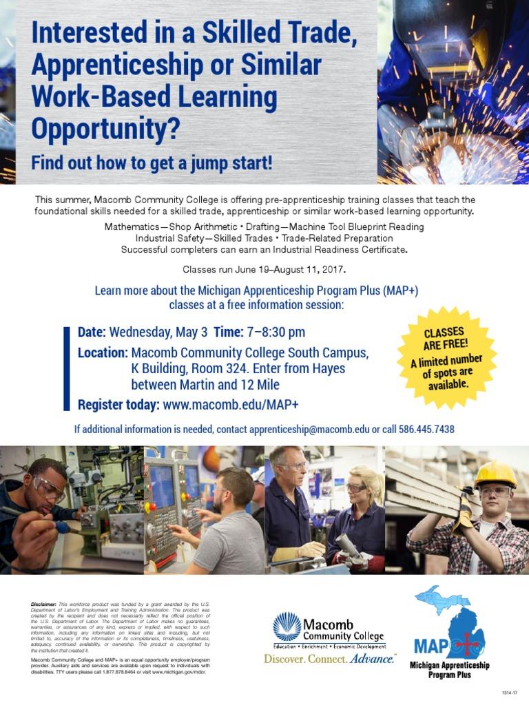 Map Summer Info Session Community College Apprenticeship - Us map apprenticeship program