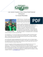NCGG Irish Festival Grand Marshals 2017