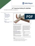 BB Aquarius Folding Fin Stabilisers HR