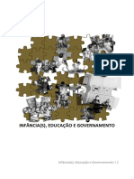 Infancias Educacao e Governamento