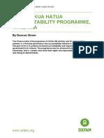 The Chukua Hatua Accountability Programme, Tanzania