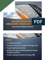 Microsoft PowerPoint - Rancangan Kurikulum AIPNI 2016 Dan Implementasi Untuk Prodi