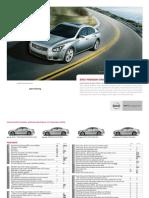 Nissan Maxima e Brochure Gen