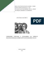 Ana Paula Da Silva - Narradores Tupinambá e Etnosaberes Nas Crônicas Quinhentistas