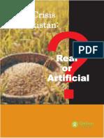 Food Crisis in Pakistan