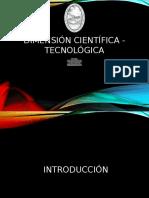 Dimensión Cientifico - Tecnologico del desarrollo sustentable