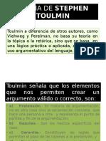 Teoria de Stephen Toulmin