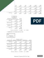 Statistics results