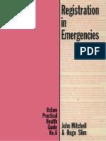 Registration in Emergencies