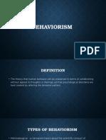 behaviorism pp