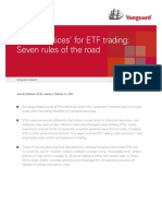 Vanguard Best Practices for ETFs