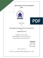 documentationforopeningandclosingadvancelicences-140324112600-phpapp01