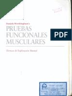Pruebas Funsionales musculares