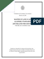 2015-16LLMAcademicStandards