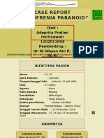 Ppt Case Skizo Paranoid Prita Mentah