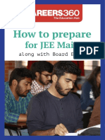 How to Prepare for JEE Main Along With Board Exams